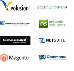 eCommerce Online Store Shopping Carts
