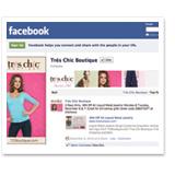Tres Chic Boutique Facebook Page
