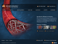 WordPress Web Design Template ScientificAnimations.com
