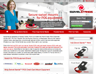 Swivel Stands web design