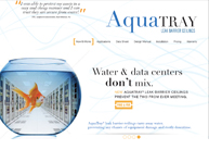 AquaTray Website Design