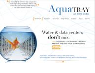 AquaTray Website Design