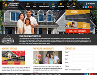 TriCountyExteriors.com web design