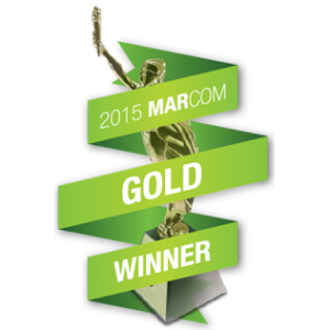 MarCom 2015 Gold Award Winner