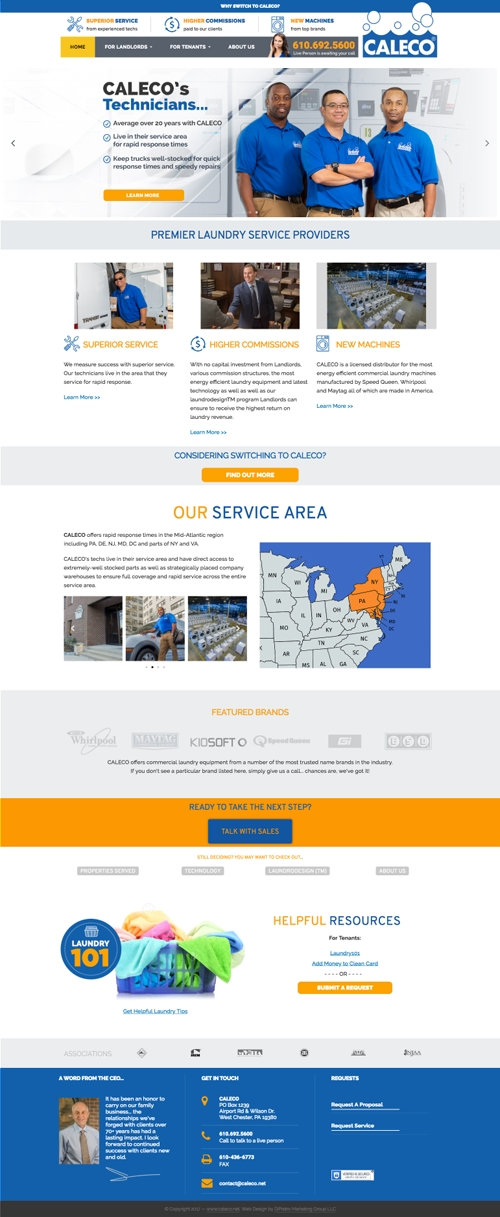 web design agency DMG Philadelphia