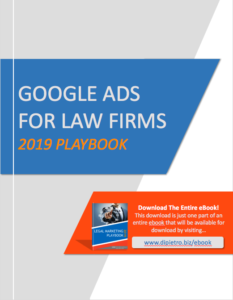Google Ads For Law Firms 2019 eBook