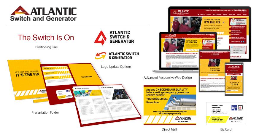 Atlantic Switch & Generator Brand Identity