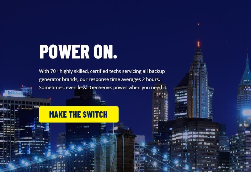GenServe Inc Website Design