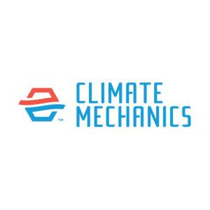 climate mechanics logo design