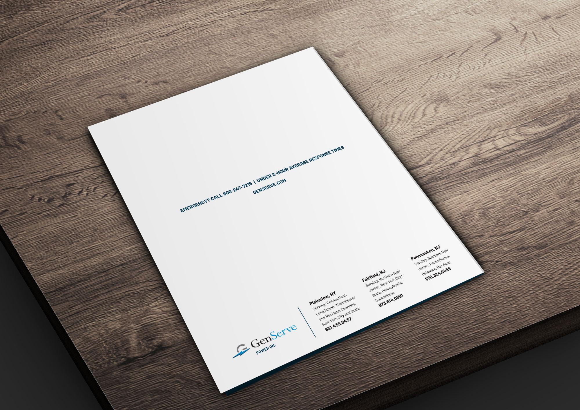 Folder Back Cover